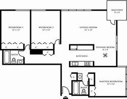 Three Bedroom Design A