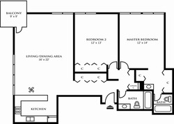 Two Bedroom Design B
