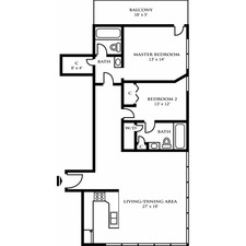 Two Bedroom Design C